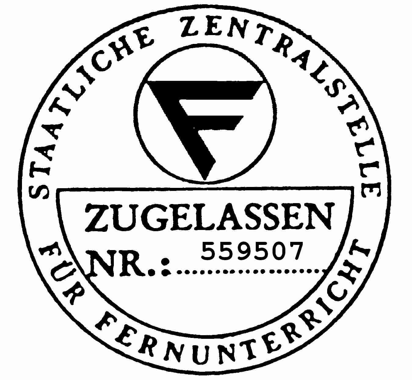 ZFU Zulassung